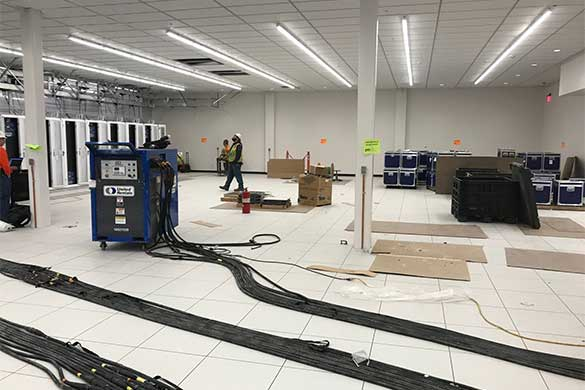 ongoing work for data center hvac
