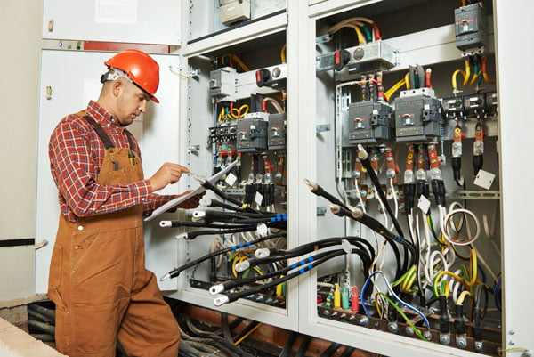 electrical cutover services performed by a data center electrician